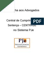 Cartilha CENTRASE para ADVOGADOS Modificada 25.07.18