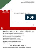 DPP UVM Gestión de la Integración 2019
