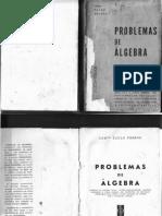 Problemas de Algebra Para o Curso Ginasial   Comte. Paulo Pessoa