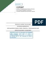 COPANT 152-019 Ventiladores de mesa a Publicación