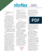 InforNex 23.11.10 Frente a Frente Entrevista