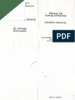 Statpower 125 User's Manual