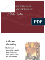 3 - Gathering Information and Measuring Market Demand