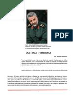 USA - Irán - Venezuela