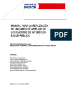 Manual unidad de análisis