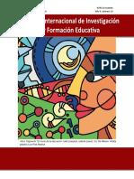 Revista Internacional de Investigación y Formación Educativa. Año 4, número 13, Octubre-Diciembre de 2018