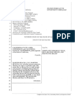 Complaint for Quiet Title, Declaratory Relief, and Injunctive Relief, California State Lands Comm'n v. Martins Beach 1, LLC, No. ___ (Cal. Super. San Mateo Jan. 6, 2020) t 2020