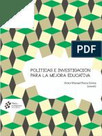Políticas e investigación para la mejora educativa - Víctor Manuel Ponce Grima