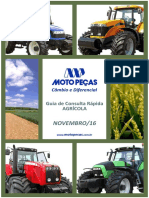 Moto Peças Catalogo Cambio e Diferencia Agricola 2016