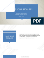 LARGE SCALE RETAILERS