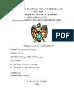 informeprogramacion