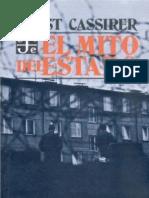 CASSIRER, MITO DEL ESTADO