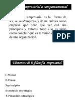 Exp de Adm de Empresa I Grupo 2 filosofia empresarial