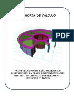 MEMORIA DE CALCULO PDF
