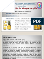 ELABORACION DE VINAGRE DE PIÑA (1)