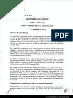 Sentencia inconstitucionalidad 102 LOSNCP