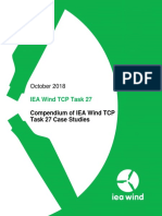 IEA Wind Task 27 Technical Report Case Studies 2018