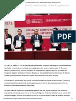 04-09-2019 Firma Astudillo Convenio Entre Sedatu, UNAM y Gobiernos Estatales.