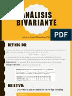 Análisis Bivariante(1)