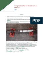 Registros geofísicos para el control del estado técnico de los pozos petroleros