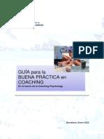 Buenas prácticas coaching