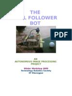 The Ball Follower Bot