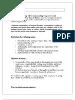 CSR Document.
