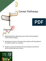 3. Career Pathways