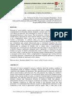 LEITURA LITERÁRIA E FRUIÇÃO ESTÉTICA