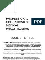 code of ethics and DUTIES