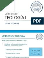 Clase introductoria Métodos de Teología I