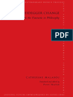 Catherine Malabou - The Heidegger Change