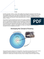 Knowing- Developing Knowing