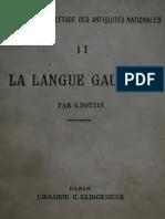 1918 La langue gauloise - G. Dottin.pdf