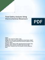 Food Safety Analysis Using Electrochemical Biosensors