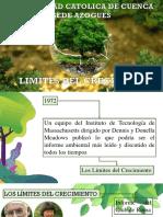 LIMITES DEL CRECIMIENTO-DESEQUILIBRIO AMBIENTAL