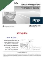 Shadow 750 2007