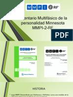 MMPI-2-RF. Presentación.pptx