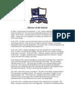 1-09 History of the School