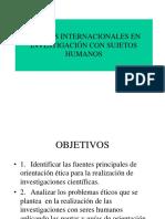 TEMA 2-Normas Internacionalese investigacioncon sujetos humanos.ppt