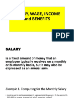 SALARY, WAGE, INCOME and BENEFITS.pptx