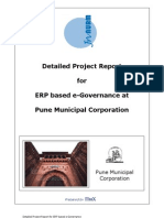 Use of ERP by PUNE Muncipality