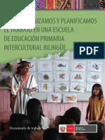 Cómo Organizamos y Planificamos El Trabajo en Una Escuela de Educación Primaria Intercultural Bilingüe