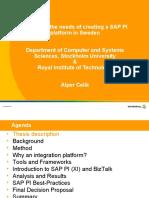 SAP PI Presentation
