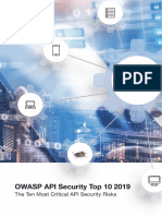 OWASP API Security Top 10 (2019)