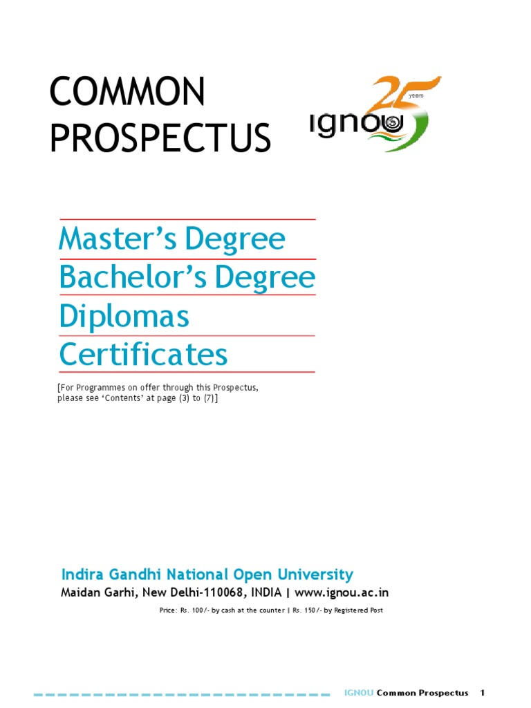 IGNOU | Distance Education | Higher Education