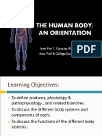 Lecture 1  2 - Body System Overview and Medical Imaging