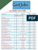 All India Govt Jobs