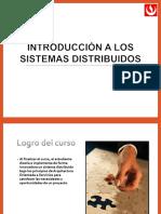 DSD 01.00 CF-CLASS-1- Introducción a los Sistemas Distribuidos