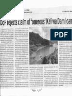 Business World, Jan. 8, 2020, DoF rejects claim of onerous Kaliwa Dam loan.pdf
